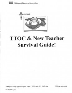 TTOC Survival Guide Cover